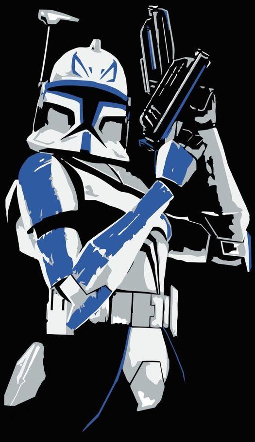 Star Wars Captain Rex Star Wars Pictures Star Wars Poster Star Wars Painting