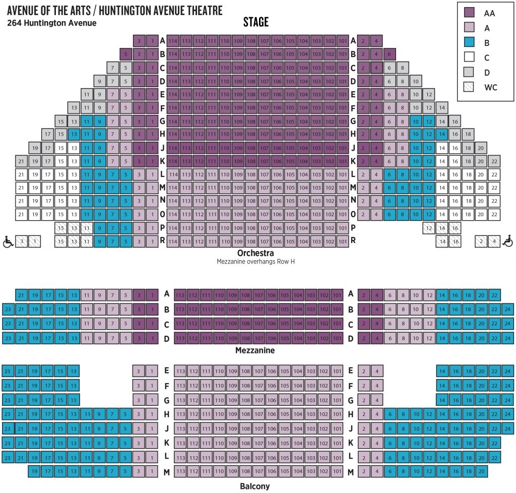 Wilson Center Seating Chart Seating Charts Seating Plan Theater Seating