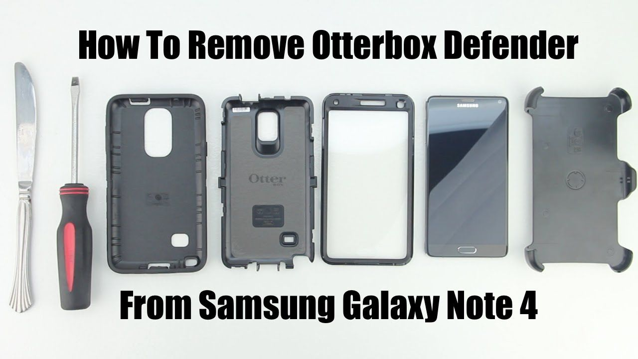 How To Remove The Otterbox Defender Series Case From The
