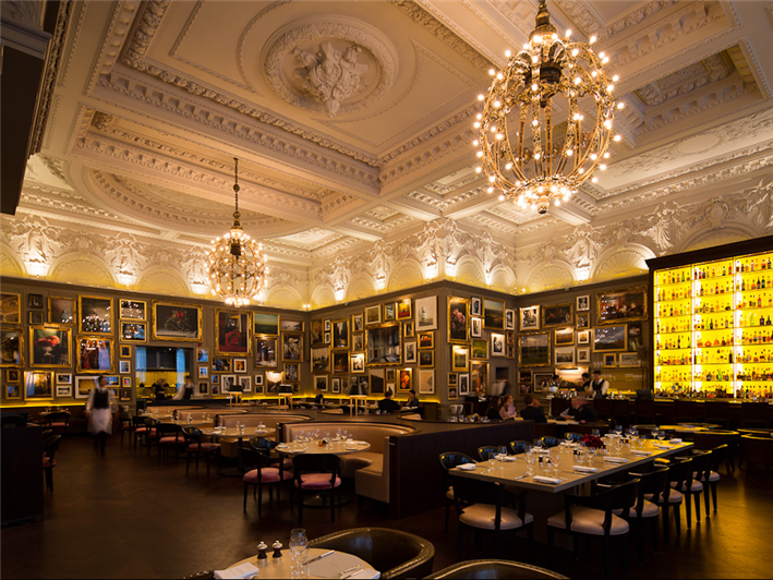 Awesome Berner's Tavern, London, England