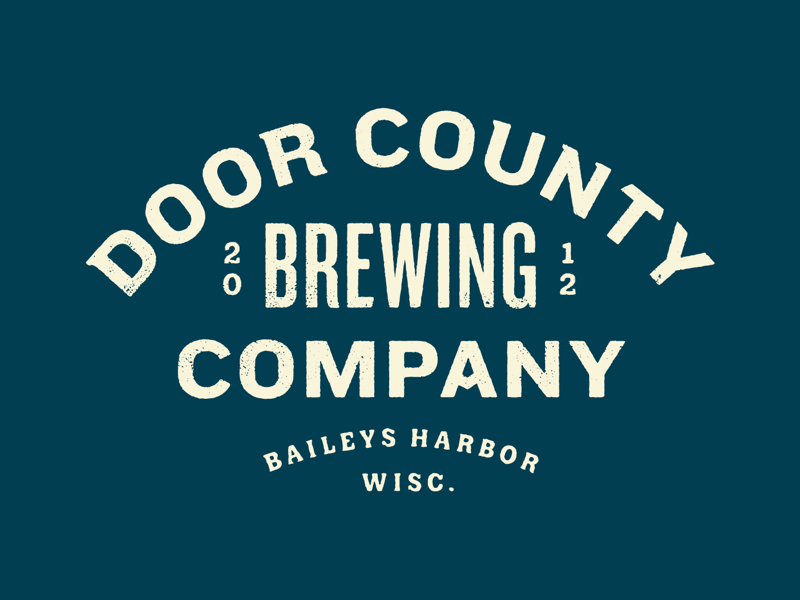 Door County Brewing Co Types Of Lettering Brewing Co Lettering