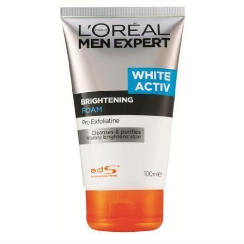 L Oreal Men Expert White Activ Brightening Foam 100ml Product Of Thailand By L Oreal 14 67 L Oreal Men Expert Skin Brightening Skin Cleanse Even Skin Tone