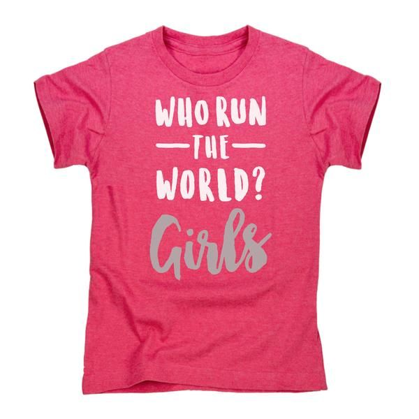 Get Yours Today At Ninas South Abington: Who Run The World Girls Toddler Tee