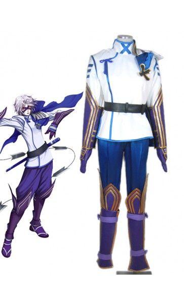 Devil Kings/Sengoku Basara Takenaka Hanbei Cool Cosplay Outfits Costumes