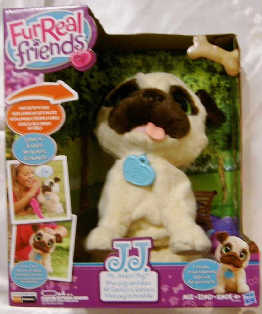Furreal Friends J J My Jumping Pug Pet Dog Fur Real Interactive Jumpin Puppy Fur Real Friends Food Animals Dog Fur