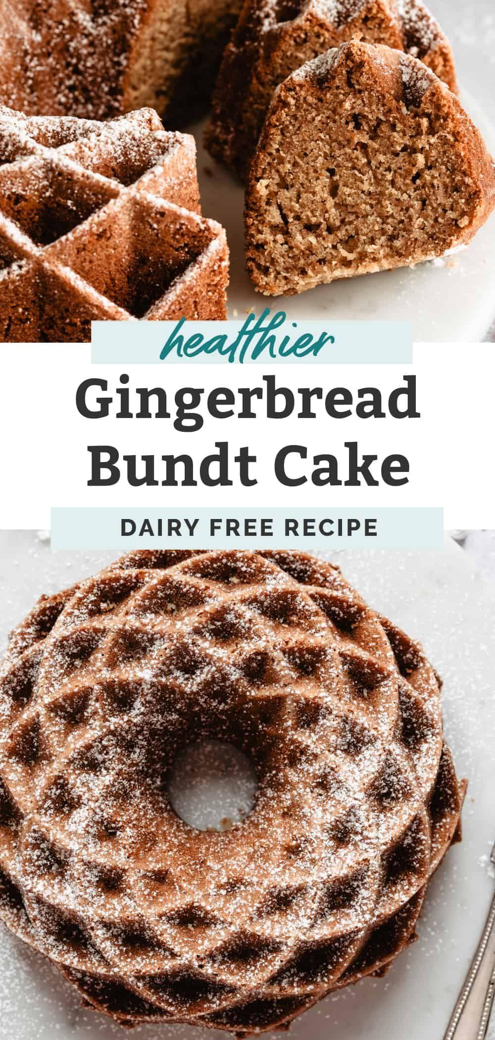 Gingerbread bundt cake recipe gluten free gingerbread