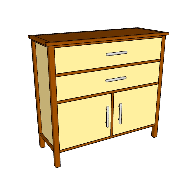 12 Free Diy Woodworking Plans For Building Your Own Dresser Plan At Howtospecialist