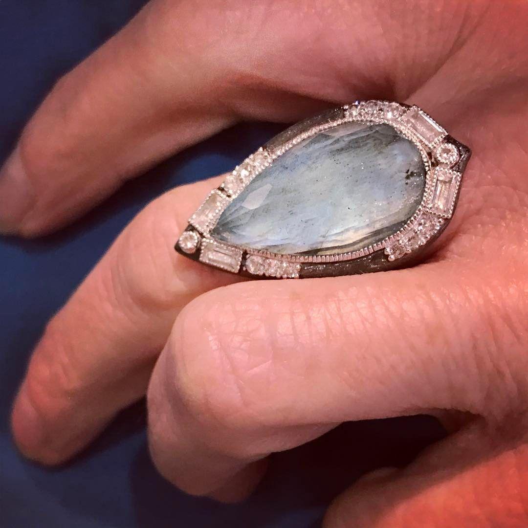 Pear shape statement ring by @judefrancesjewelry. | Jude Frances ...
