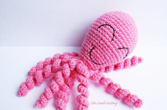 Crochet octopus, amigurumi octopus, amigurumi crochet toy, crochet stuffed animal, crochet animals, crochet plush toy, soft toy, plushies