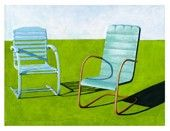 Summer Loungers by Leah Giberson - Leah Giberson - Gallery