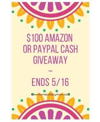 PAYPAL GIVEAWAY MAY 2019