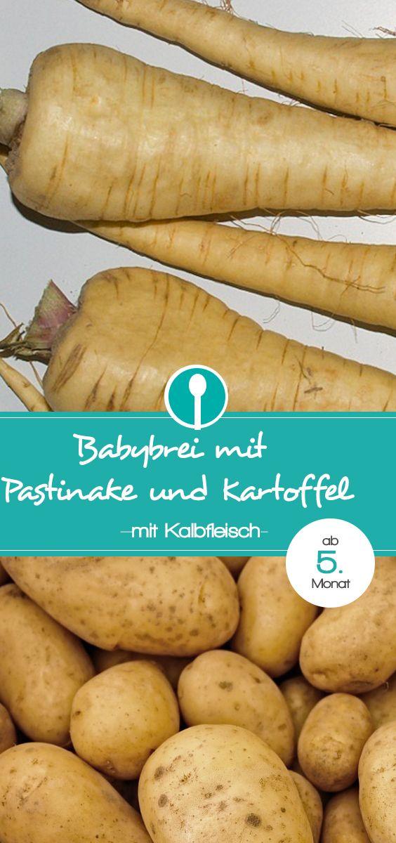 Pastinaken-Brei mit Kalbfleisch | Recipe | Babynahrung ...