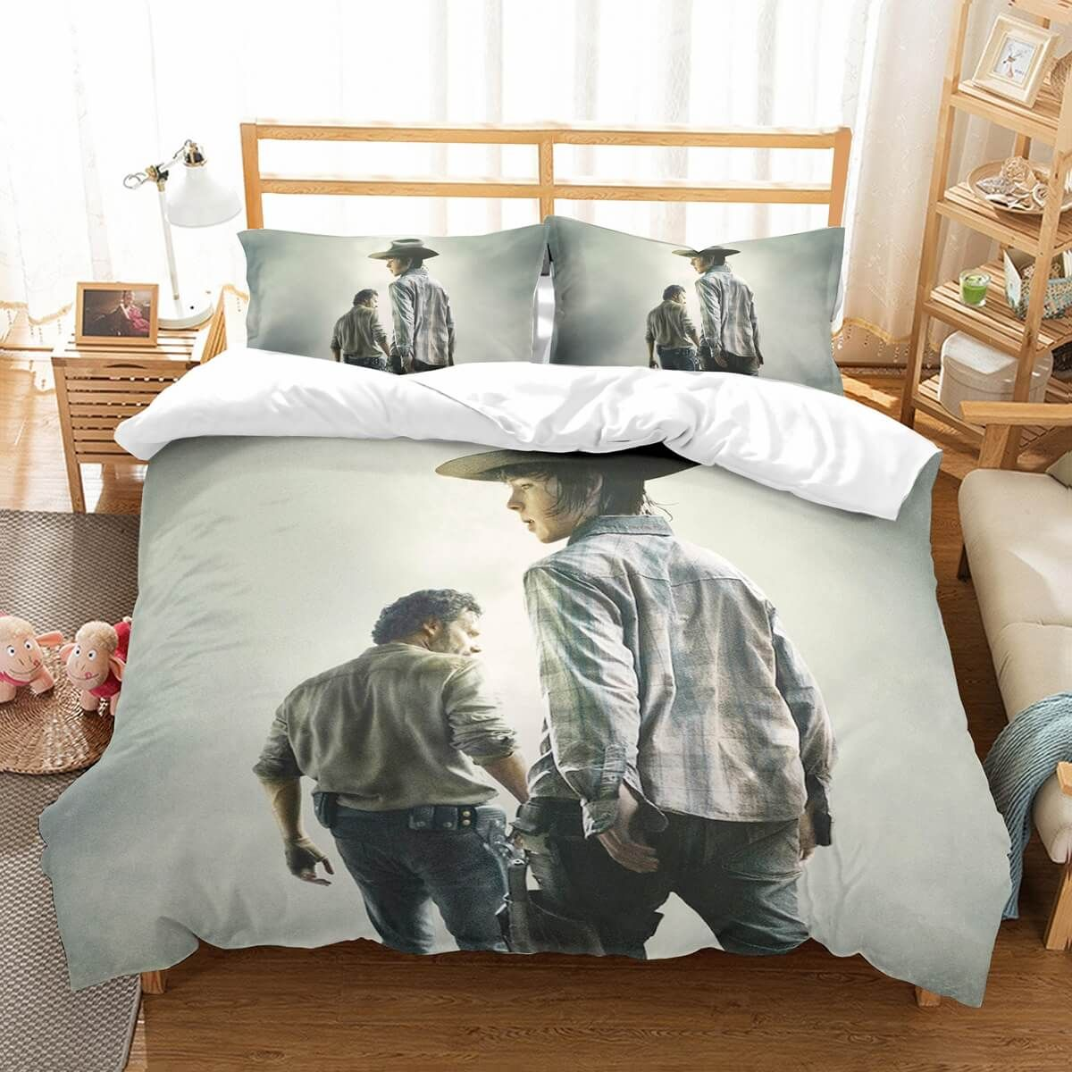 Zombie Bedsheets For Creepy Sleepy The Walking Dead Zombie