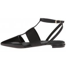 Vogue Summer Leather Ankle Strap Pointed toe Flats..