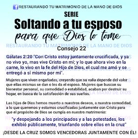 Restaurando Tu Matrimonio De La Mano De Dios Serie Soltando A Tu Esposo Para Que Dios Lo Tome In 2020 Christian Poems Kids Poems Christian Devotions