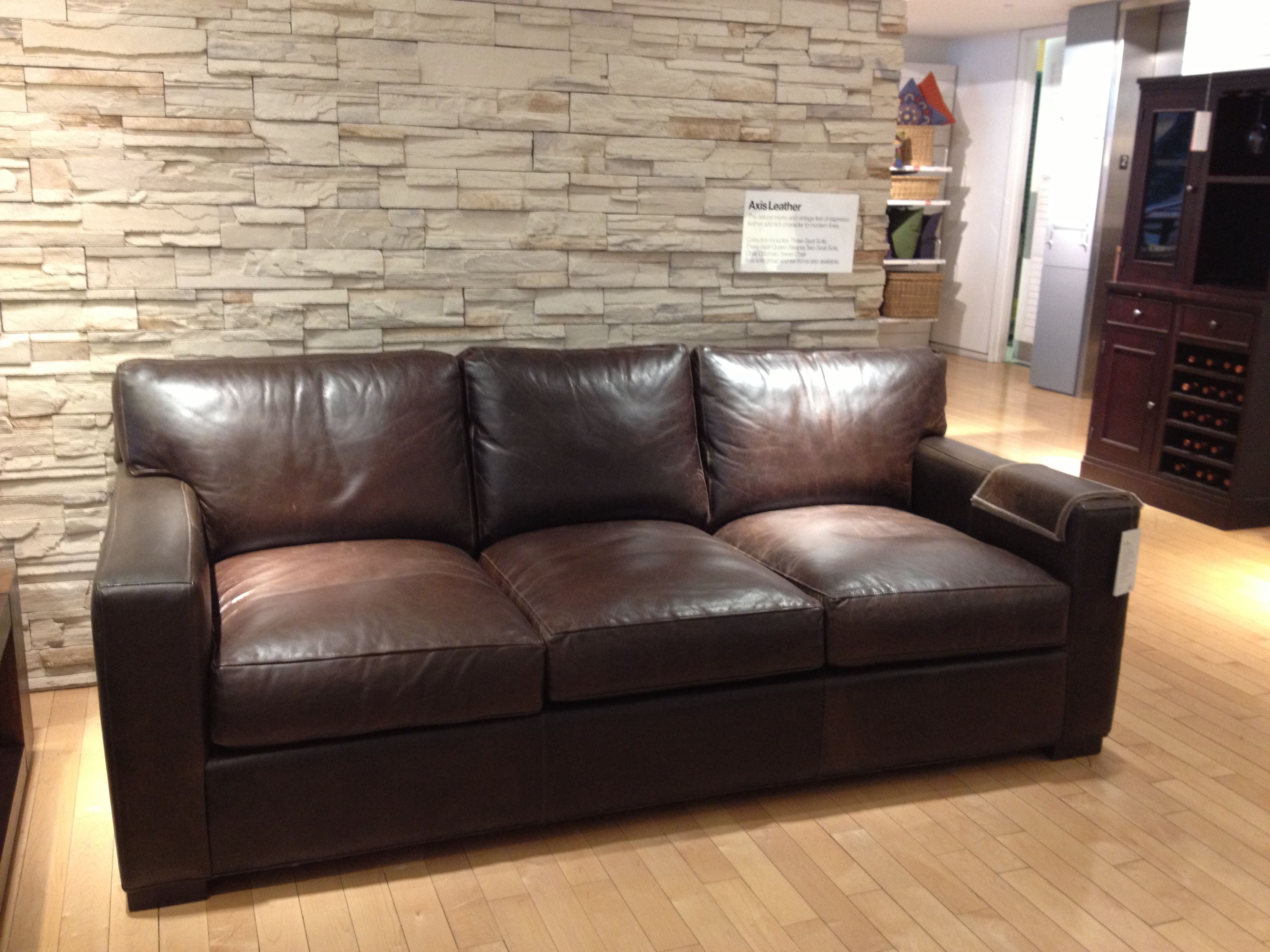 Fine Axis Leather Sofa From Crate And Barrel Love Must Have Gmtry Best Dining Table And Chair Ideas Images Gmtryco