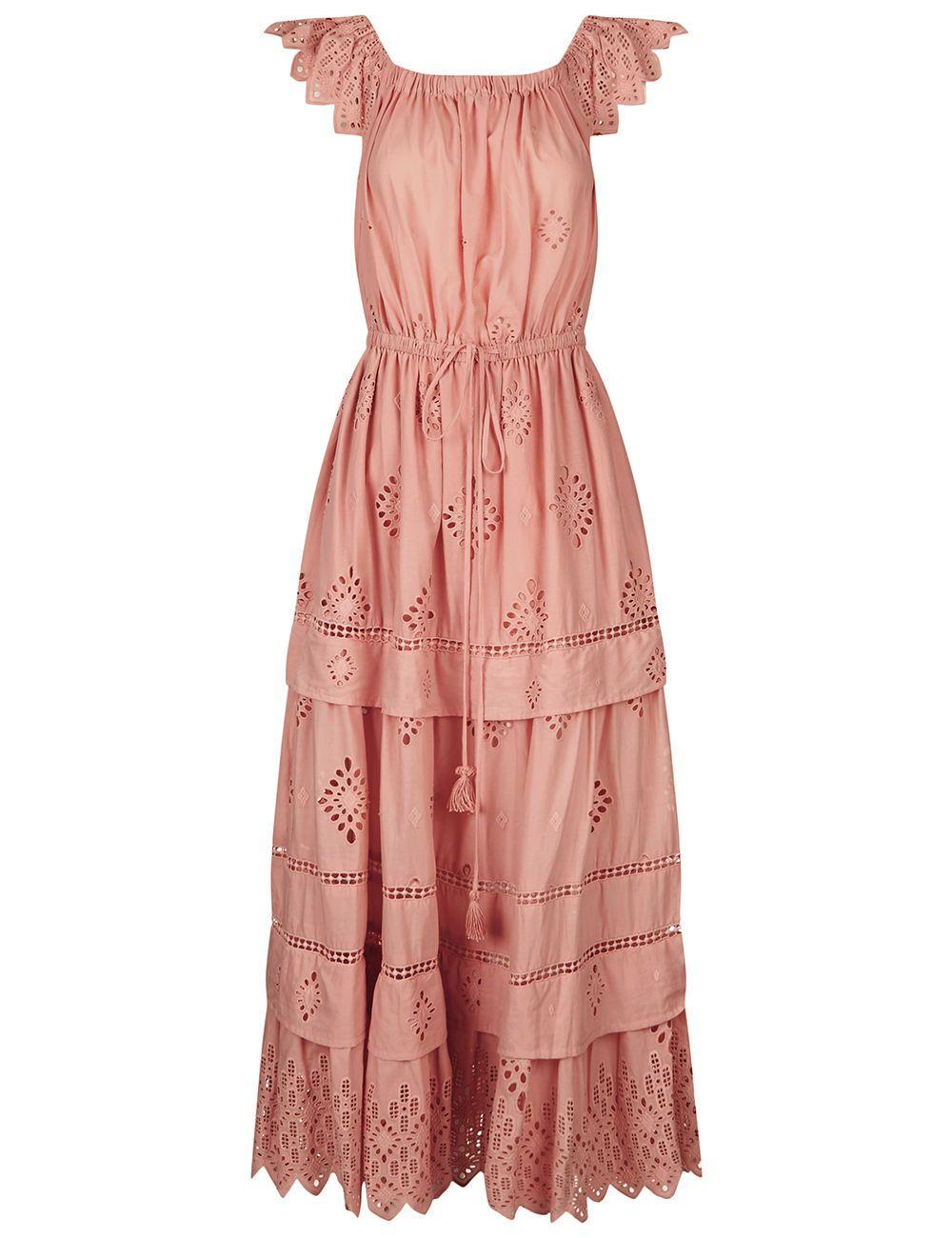 Lips Midi Dress