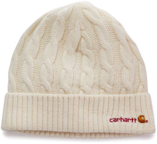 dcdb96d28b942 Amazon.com  Carhartt Women s Cable Knit Hat