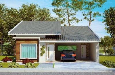 Fachadas De Casas De Un Piso Bonitas Con Garage En Frente Fachadas De Casas Simples Fachadas De Casas Plantas De Casas