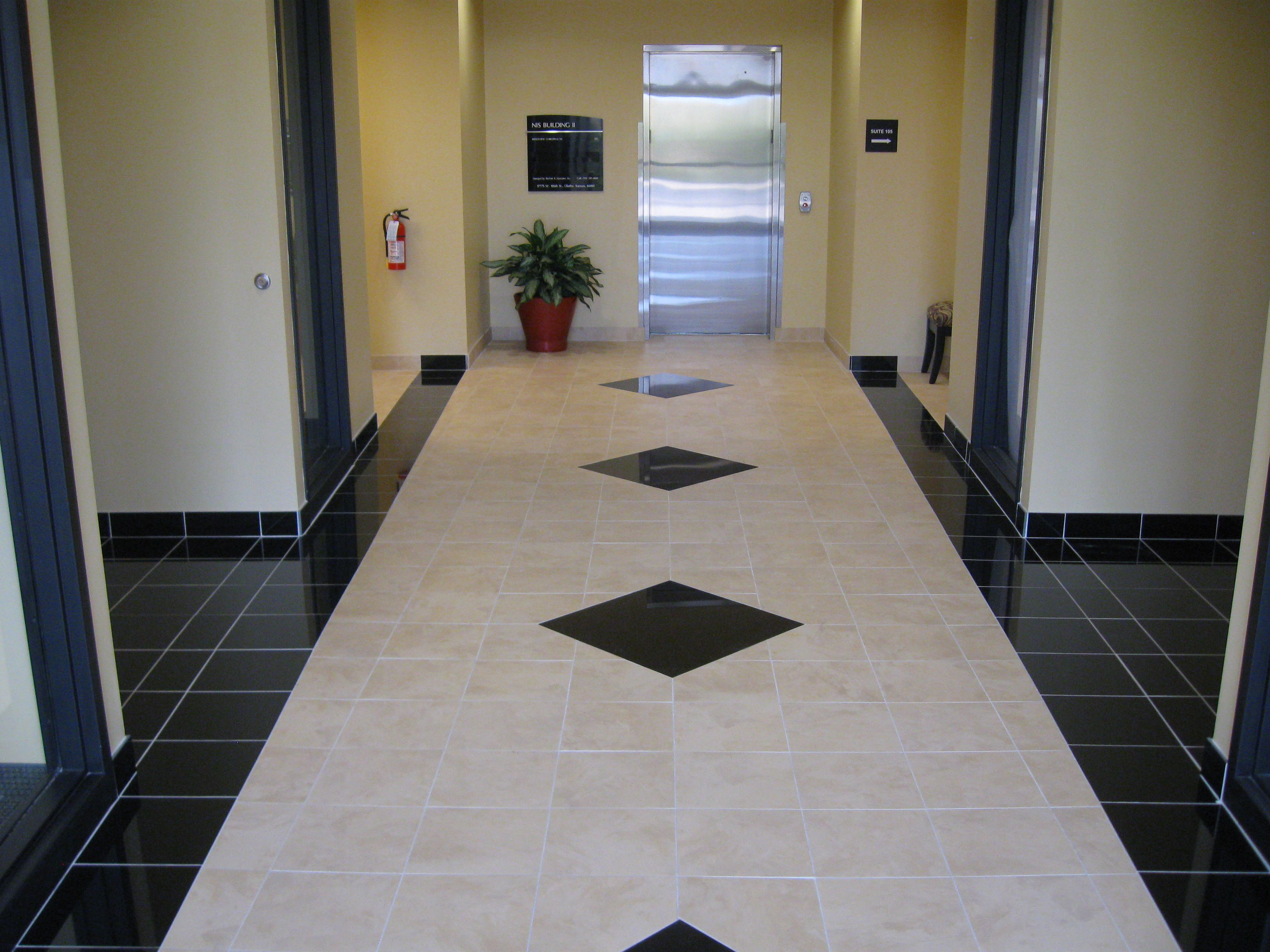 Floor Tile Workers : Commercial porcelain floor tile patterns job photos