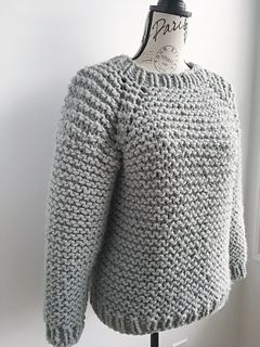 Photo of My Beginner Raglan pattern by Knitatude / Chantal Miyagishima