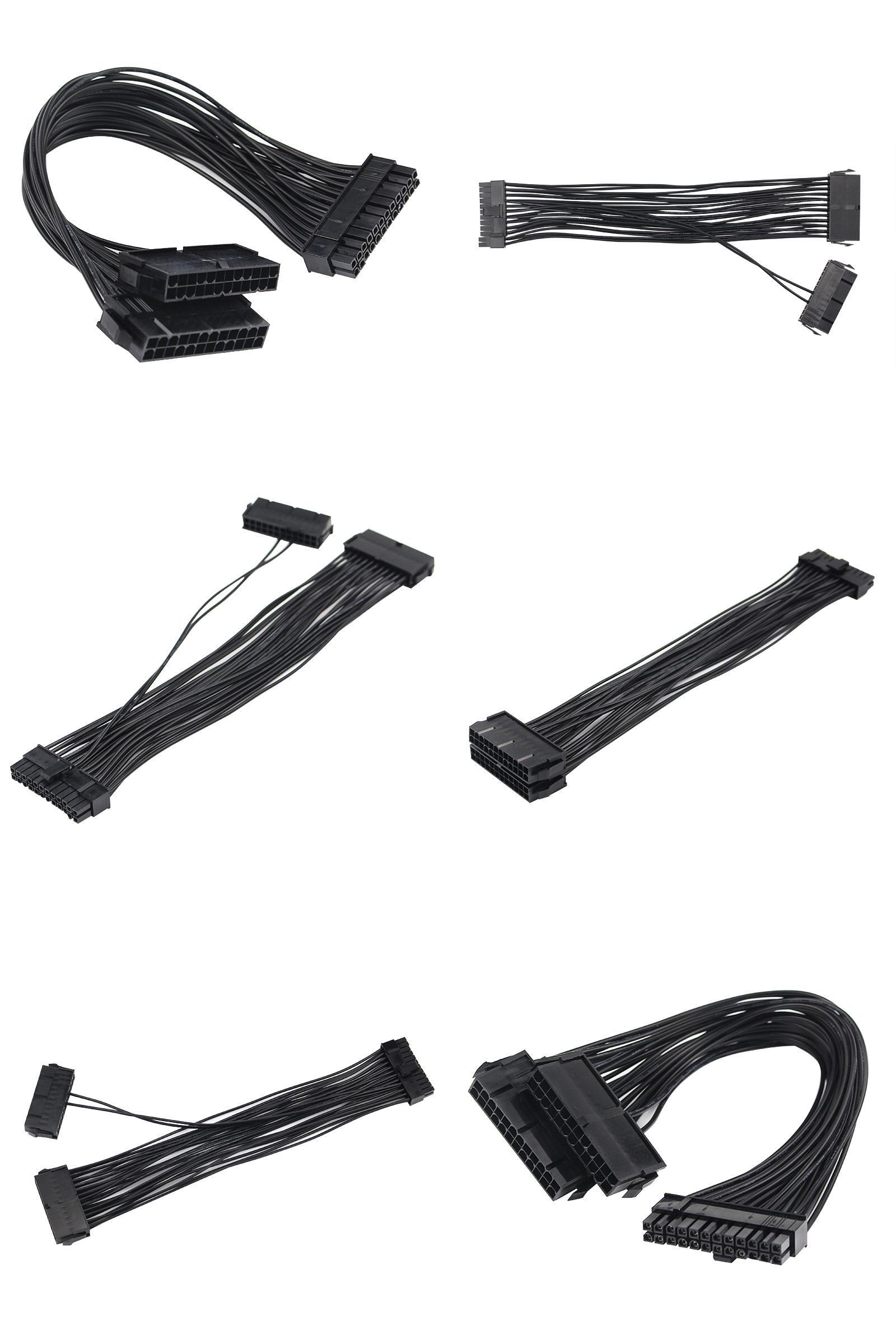 Visit To Buy Atx 30cm 24 Pin Dual Psu Power Supply