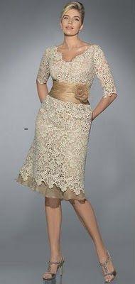56616116a0 vestidos de encaje para gorditas beige 5