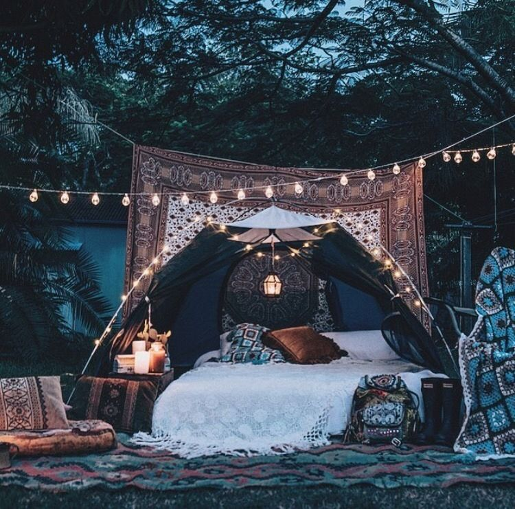 The Black Woman Renaissance Outdoor bed, Outdoor, Glamping