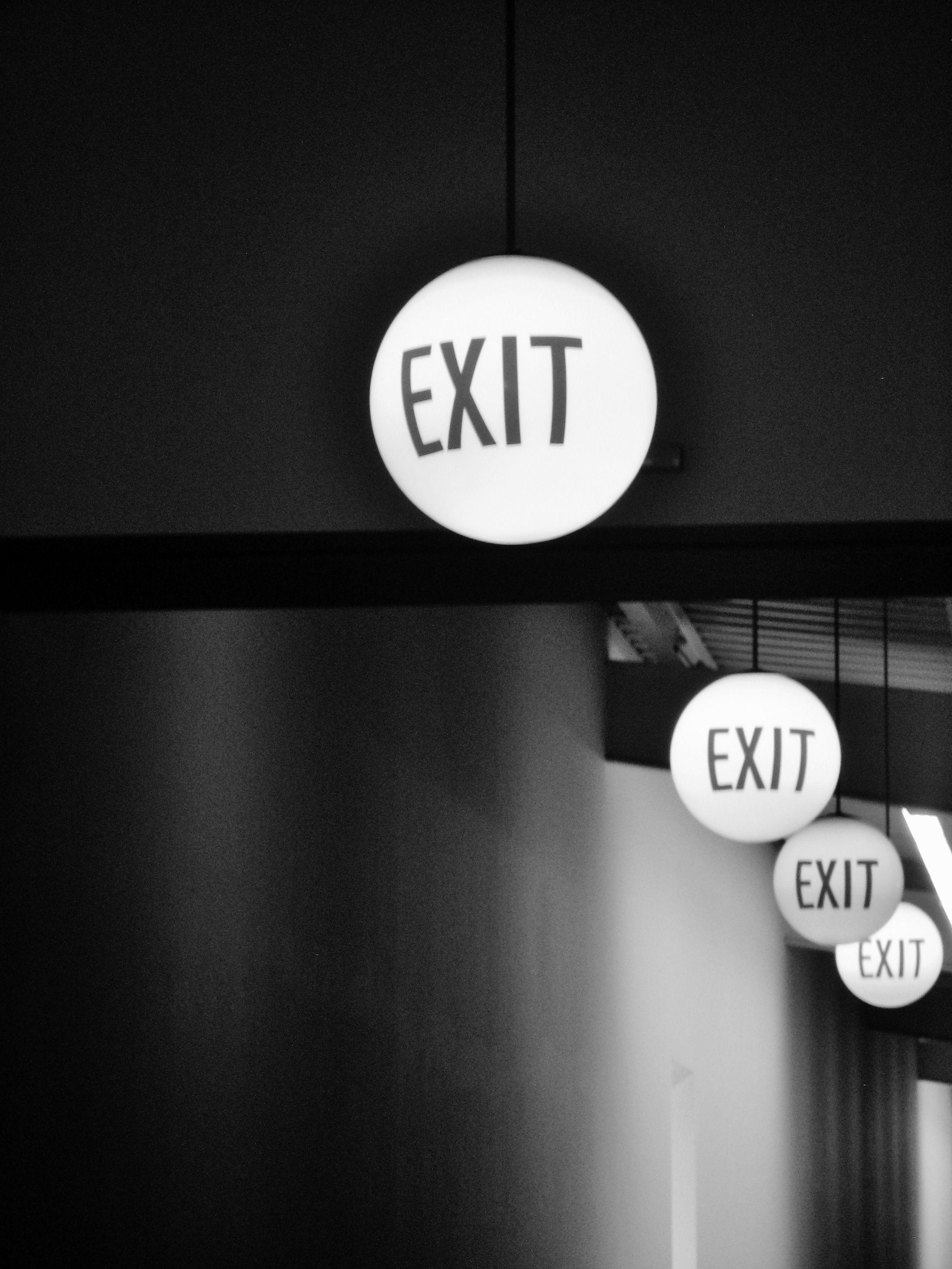 exit signs berlin art