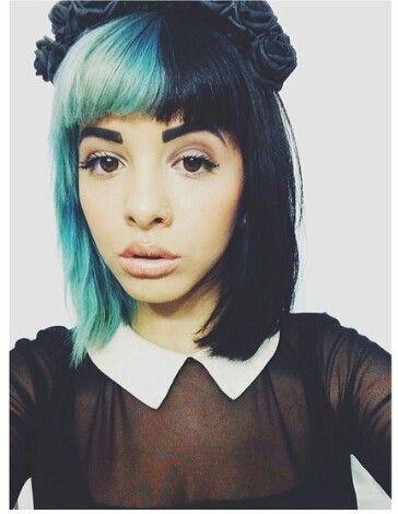 Melanie Martinez Melanie Martinez Dyed Hair Half Dyed Hair