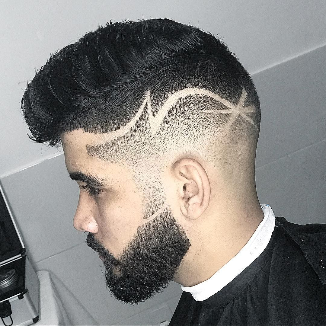 35 Awesome Design Haircuts For Men Men S Hairstyles Haircut Designs Hair Tattoo Men Hair Tattoo Designs