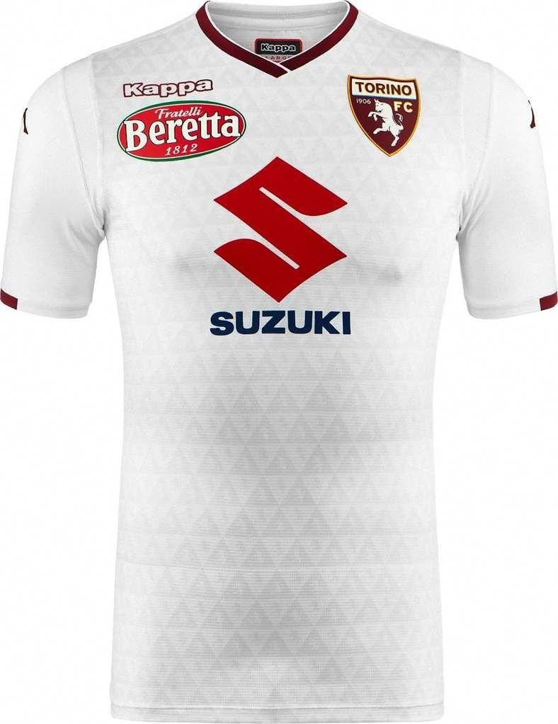TORINO F.C. Calico  football CLUB Away 2018 - 19 FÚTBOL SOCCER CLUB KIT  SHIRT JERSEY 11d650fb6c9f0