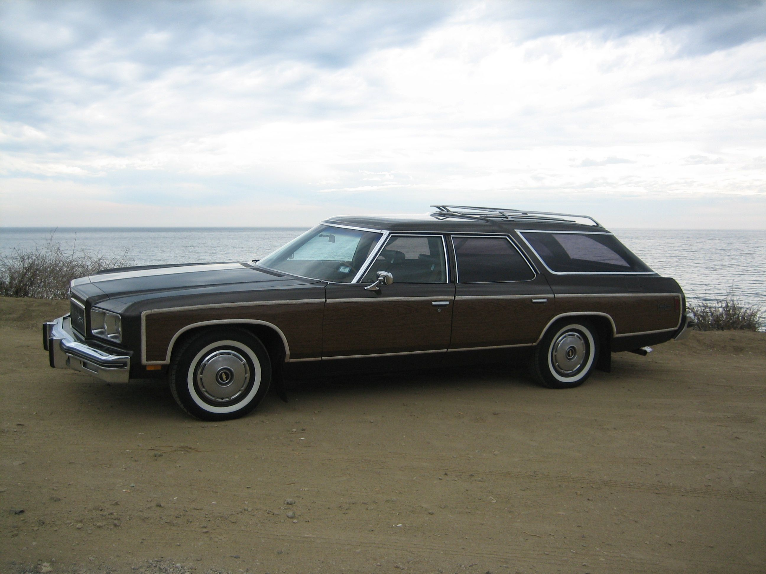 1975 Caprice Estate Wagon Bought It On Guam And Traveled Coast To