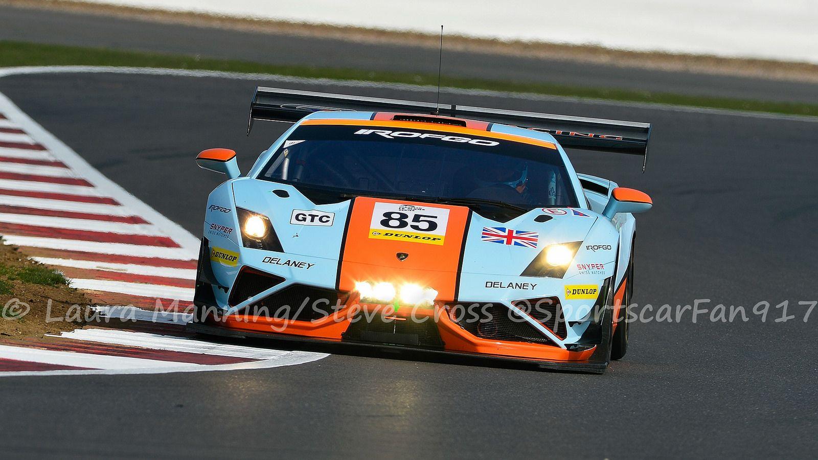 Gulf Racing UK   Lamborghini Gallardo LP560 GT3.