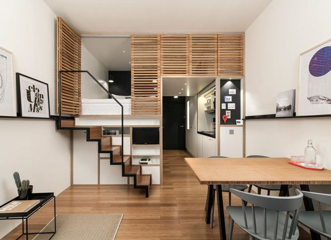 Small Loft this tiny loft is the smartest small space you've ever seen | loft