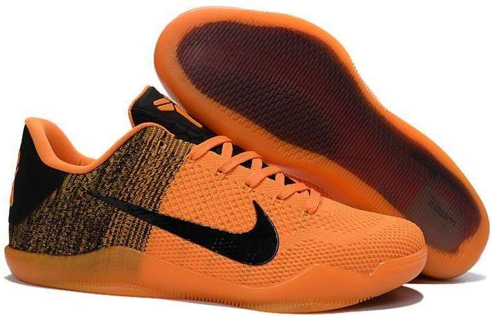 Hot Sale Cheap Kobe 11 Orange Black