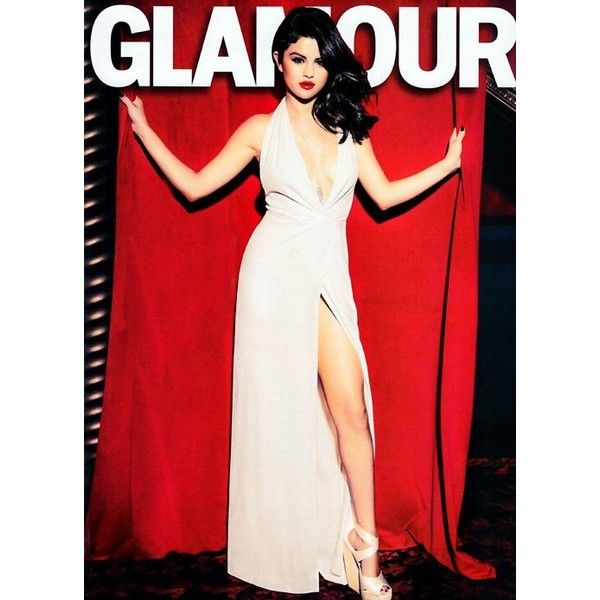 Selena Gomez Covers 'Glamour' December 2012 ❤ liked on Polyvore featuring selena gomez, people and selena
