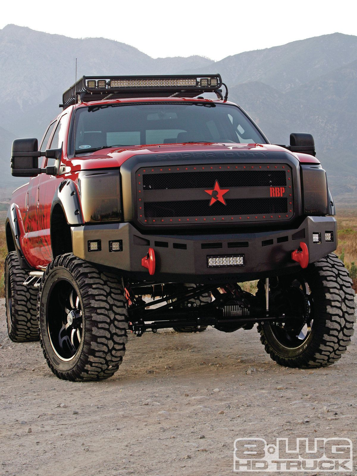 1111-8l-02 monster-duty-2011-ford-f250-super-duty front-angled-view