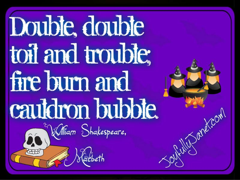 Fun Halloween Quotes To Repin And Share   Janet Caen Http://joyfullyjanet.