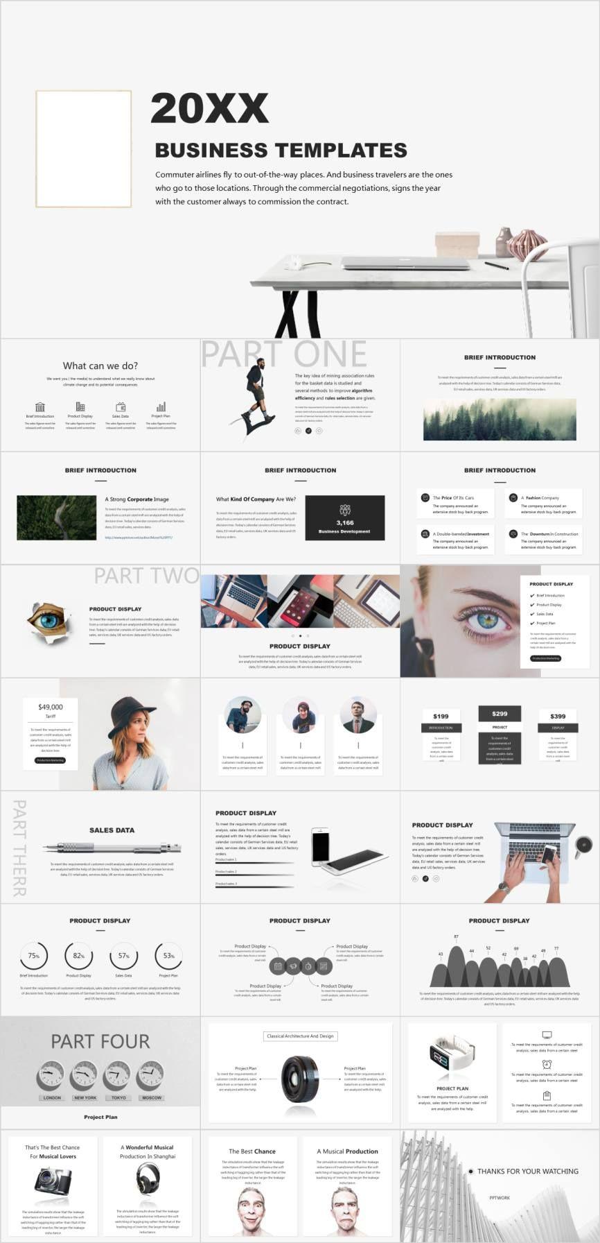 Website Proposal Powerpoint Template Pcslide Com Powerpoint