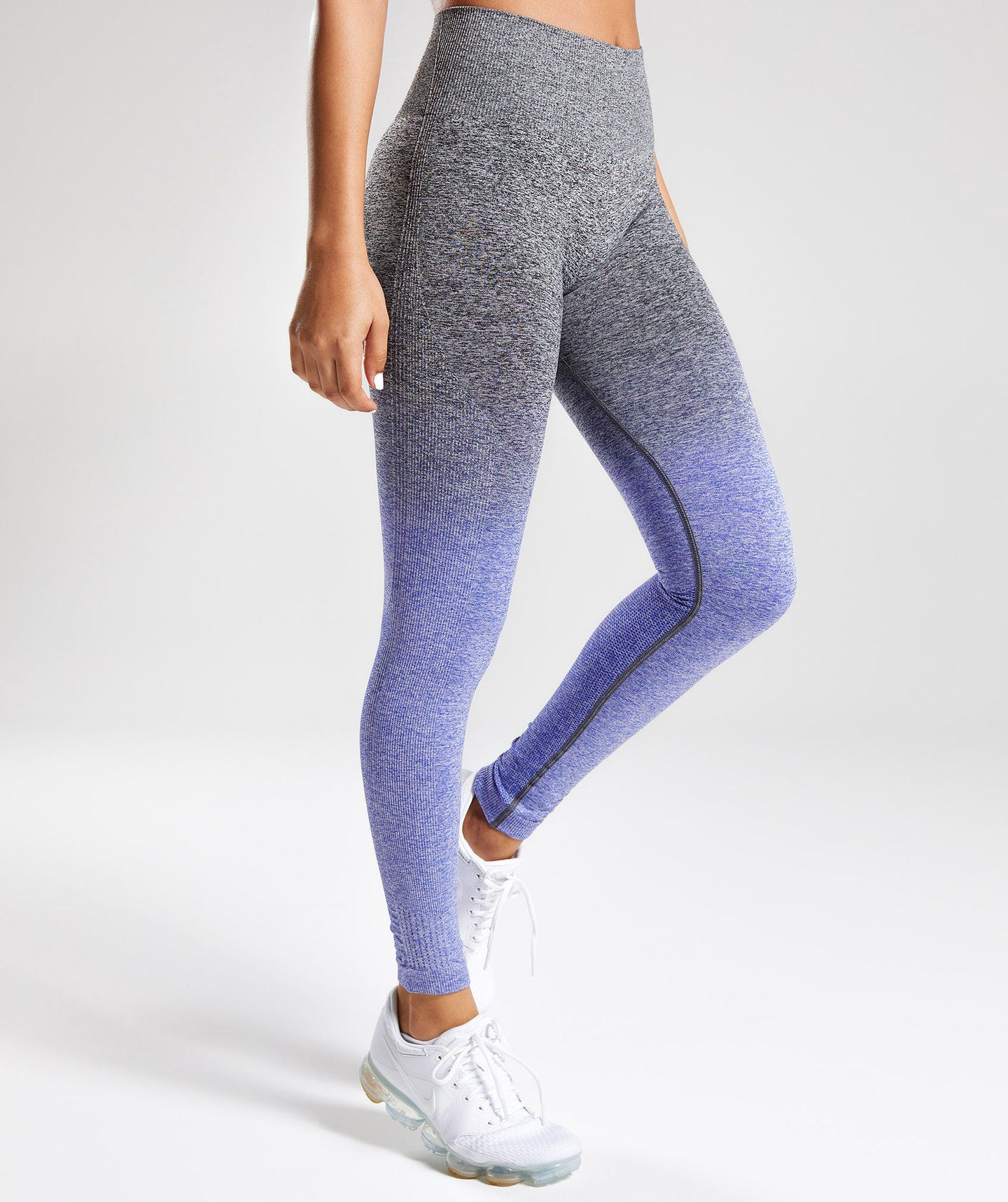 3e7d36459e62b8 Gymshark Ombre Seamless Leggings - Indigo/Black 4 | My favorite ...