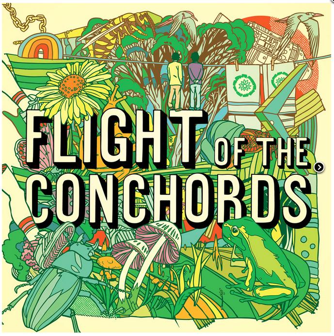 Flight of the Conchords album cover