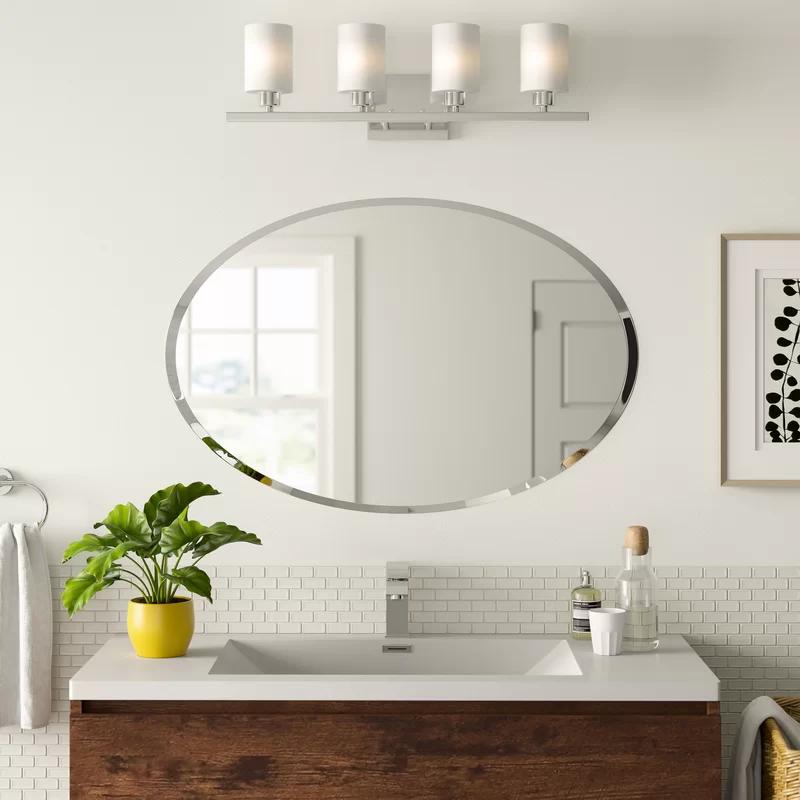 Oval Mirror Bathroom, Large Oval Mirror Bathroom