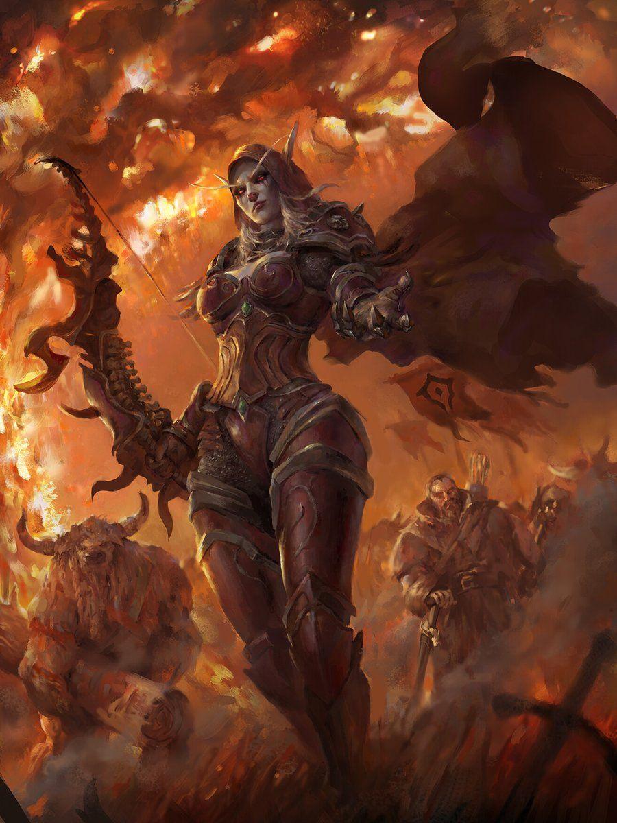 Ramon On Twitter Warcraft Art Sylvanas Windrunner World Of Warcraft