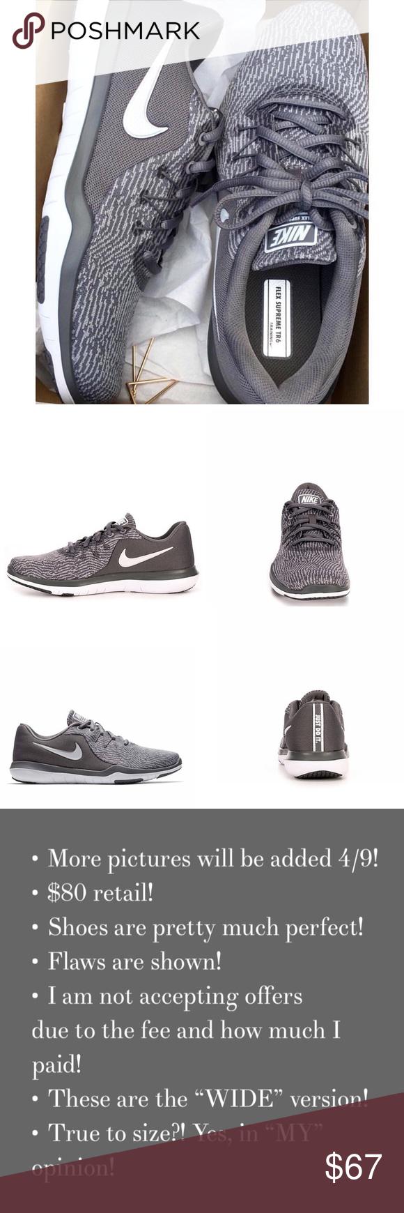 0176396168c Women s Nike Flex Supreme TR6 Training Shoes ♡ Worn 3 times! Like new!
