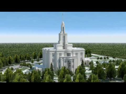 The Payson Utah Temple Of The Church Of Jesus Christ Of Latter Day