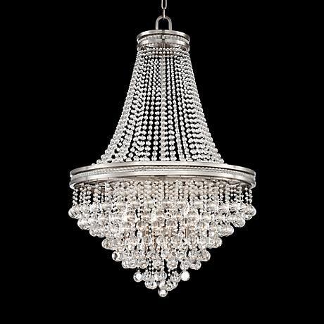 Cherrie 29 Wide Large Clear Crystal Chandelier 7f756 Www Lampsplus