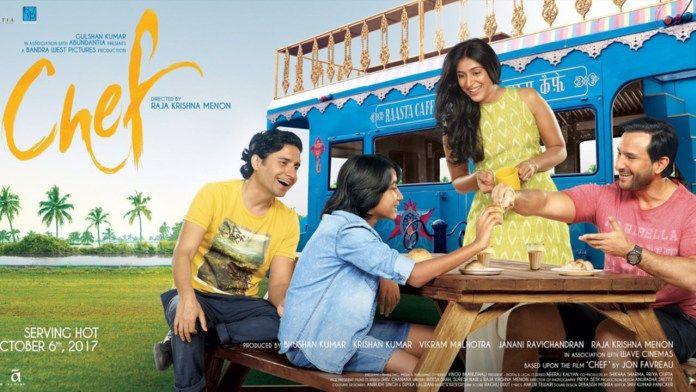 Bland Pasta Bollywood Film Review Movie Chef Jon Fravreau Padmapriya Raja Krishna Menon Saif Ali