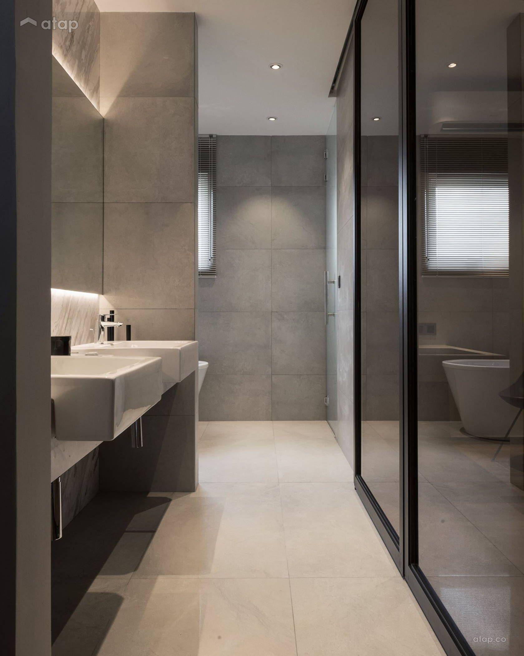 Home Design Ideas Malaysia: Contemporary Modern Bathroom Terrace Design Ideas & Photos