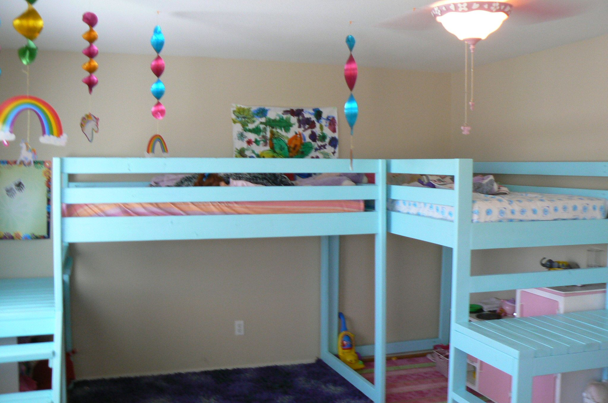 2 Loft Beds Finally This Is Exactly What I Had In Mind So Both